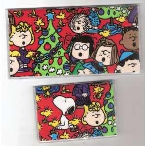 Debit Set Peanuts Snoopy Charlie Brown Christmas