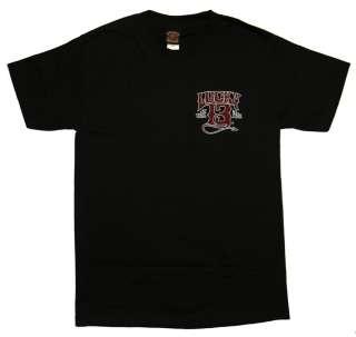 Lucky 13 Devils Kustom Hot Rod Muscle Car T Shirt Tee