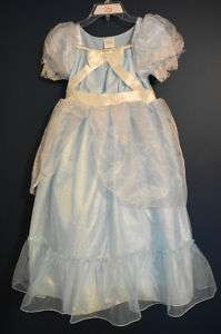 New  CINDERELLA Heart Costume Dress XS 4