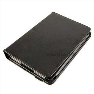 360 Degree Rotary Leather Stand Case Cover for 7  Kindle Fire