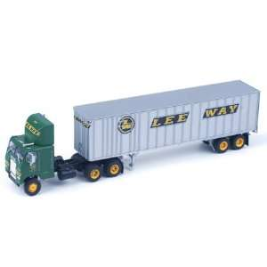 HO RTR Freightliner w/40 Trailer Leeway ATH70998 Toys & Games