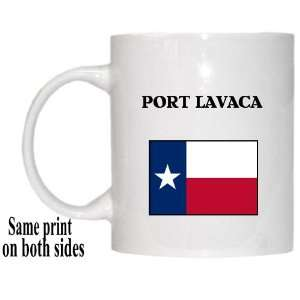US State Flag   PORT LAVACA, Texas (TX) Mug Everything