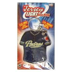 San Diego Padres Jersey Keylight Keychain