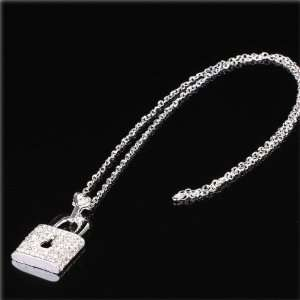 Jolie Beautiful Silver plated Metal Necklace&metal Inlaid