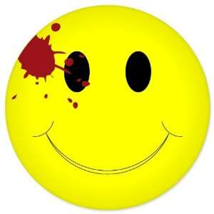 Smiley Shot Murdered Funny car bumper sticker 4 x 4