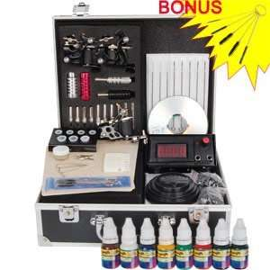 Unique Design 3 Guns Series Tattoo Tattooing Machine Kit Set Equipment