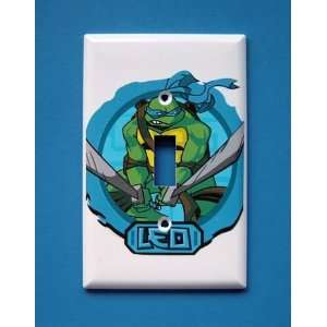 NEW Teenage Mutant Ninja Turtles TMNT Leonardo Leo Light Switchplate