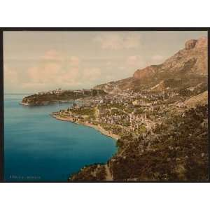 General view of the principality, Monaco, Riviera: Home & Kitchen