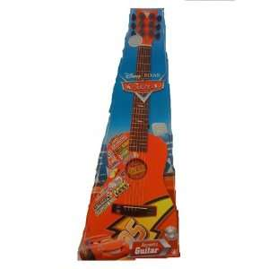 Disney Pixar Cars Red Childrens Acoustic Guitar First Act