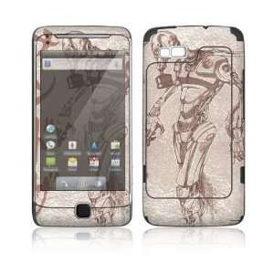 Toxic Birth Decorative Skin Cover Decal Sticker for HTC Google