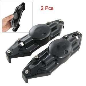 Amico Auto Car Pair Black Plastic Brake Caliper Cover Kit Automotive