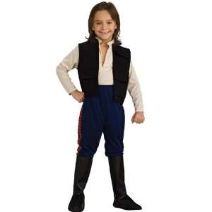 Lets Party By Rubies Costumes Star Wars Deluxe Han Solo Child Costume