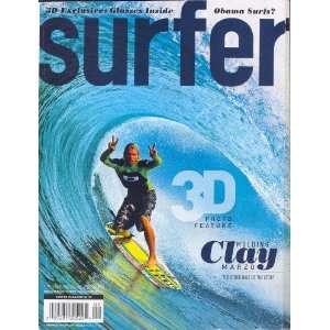 Surfer Magazine, September 2008, 3D EXCLUSIVE, Obama Surfs