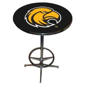Southern Miss Golden Eagles Chrome Pub Table w/Footrest