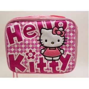 Checkers Style Lunch Bag and Hello Kitty Toothbrush Set Toys & Games