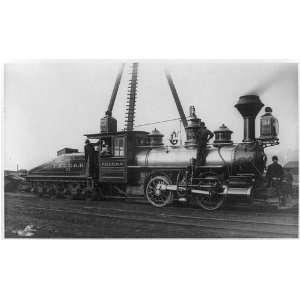 P.&L.E. Railroad locomotive Pennsylvania,PA,c1952,train