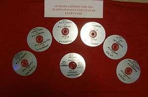 Tide National Championship 2011 Season on 7 DVD Saban Trent Richardson