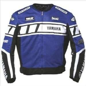 Joe Rocket Yamaha Champion Mesh Jacket   Large/Blue/Black