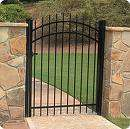 Wrought Iron Gate main entry gate