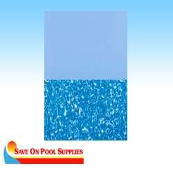 24 Round Swirl Bottom Aboveground Overlap Swimming Pool Liner 20 Mil