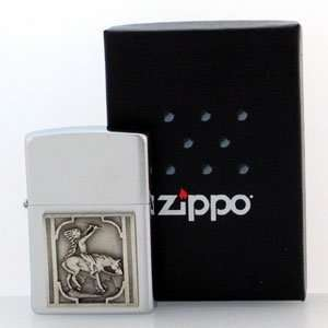 Native American Zippo Lighter   Indian & Horse
