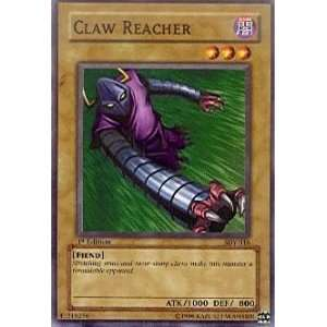 Claw Reacher   Starter Deck Yugi   Common [Toy] Toys & Games