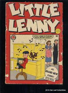 1949 LITTLE LENNY 1 Golden Age Marvel Timely Comic