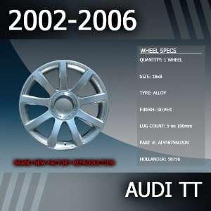 2002 2006 Audi TT OEM Factory 18 Replacement Wheel