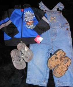 44 PIECE LOT BOYS SPRING SUMMER CLOTHES SIZE 18 24 MONTHS OUTFITS SETS