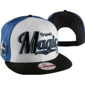 Orlando Magic New Era Script Wheel Snapback Adjustable Hat