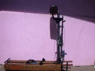 NORDIC TRACK EXCEL SKI MACHINE & MONITOR EXCELLENT
