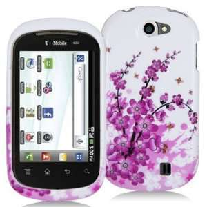 Electromaster(TM) Brand   Pink White Flower Design Crystal