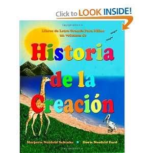 Creación: Libros de Letra grande para Niños (Libros De Letra Grande
