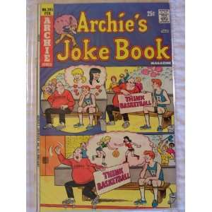 Archies Joke Book Comic Book (Vote Note, 205) John Goldwater Books