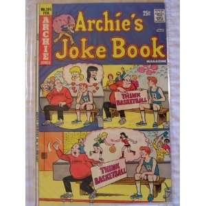 Archies Joke Book Comic Book (Vote Note, 205) John Goldwater Books
