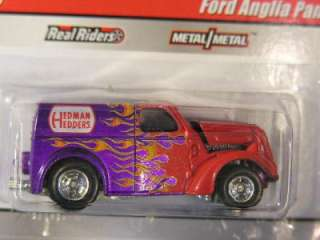 Hot Wheels Slick Rides Delivery #14 Ford Anglia Purple