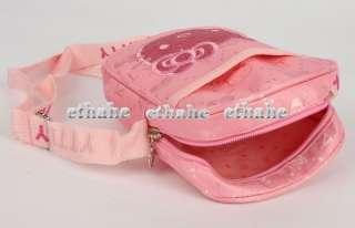 Hello Kitty Mini Canvas Crossbody Messenger Bag EIGEOG