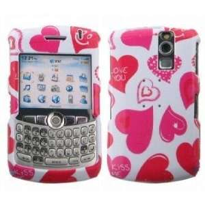 Durable Plastic Phone Design Case Cover Love Kiss For