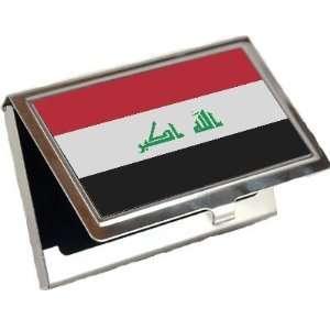 Iraq Flag Business Card Holder