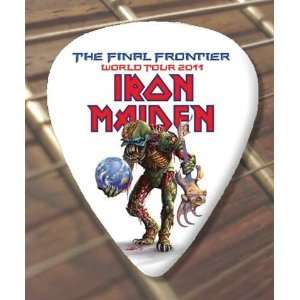 Iron Maiden Final Frontier 2011 Tour Premium Guitar Pick x
