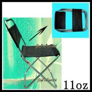 NEW PORTABLE ALUMINUM FOLDING STOOL CHAIR w/ BAG 11oz