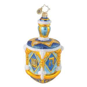 Christopher Radko King Davids Dreidel Ornament