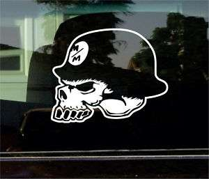 METAL MULISHA SKULL 8 INCH VINYL DECAL / STICKER