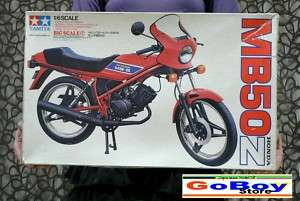 HONDA MB50 Z 1/6 BIG MODEL KIT TAMIYA JAPAN |
