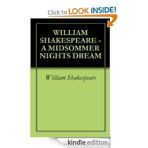 WILLIAM SHAKESPEARE   A MIDSOMMER NIGHTS DREAM William Shakespeare