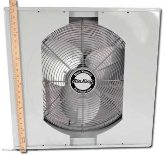 Air King 9166 Window Exhaust Fan   Optimized Cooling & Circulation