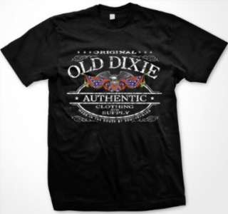 Old Dixie Confederate Clothing Southern Pride T Shirt