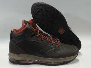 Nike Jordan City Max Trk Brown Orange Boots Shoes Mens Size 13