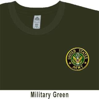 United States ARMY Iron On Patch T SHIRT 31 Colors US