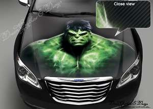 CAR FULL COLOR STICKER DECAL VINYL HOOD HULK #92